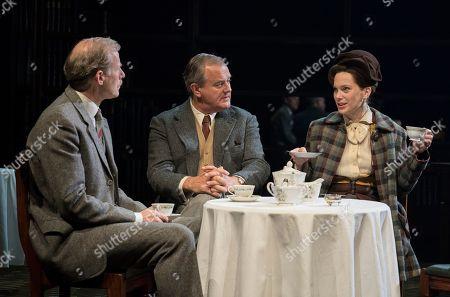 Andrew Havill as Warnie, Hugh Bonneville as C.S. Lewis, Liz White as Joy Gresham