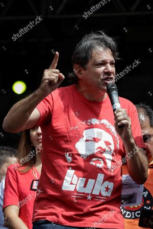 Editorial photo of International Workers' Day in Brazil, Sao Paulo - 01 May 2019