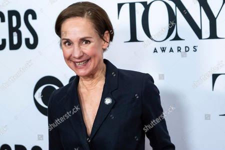 """Laurie Metcalf participates in the 73rd annual Tony Awards """"Meet the Nominees"""" press day at the Sofitel New York, in new York"""