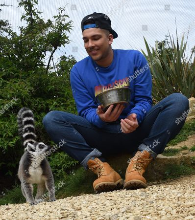 Editorial picture of Matt Terry, Cotswold Wildlife Park, Burford, UK - 01 May 2019