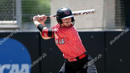 Lamar designated hitter Jade Lewis at bat during an NCAA softball game against Nicholls State on in Beaumont, Texas