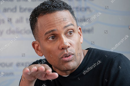 Editorial picture of Experian Hill Harper Event, Detroit, USA - 01 May 2019