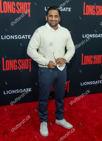 Editorial image of 'Long Shot' film premiere, Arrivals, New York, USA - 30 Apr 2019