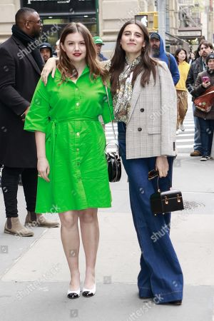 Hannah Murray and Marianne Rendon