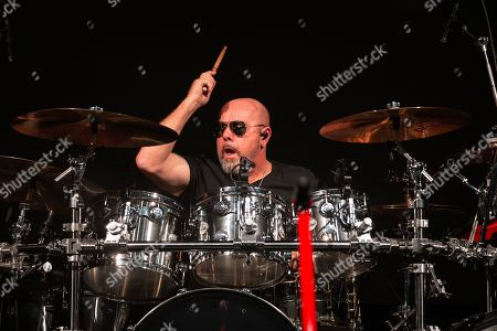 Musician Jason Bonham performs in concert with Sammy Hagar and The Circle at ACL Live