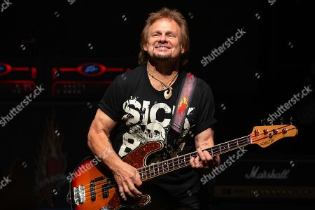 Musician Michael Anthony performs in concert with Sammy Hagar And The Circle at ACL Live