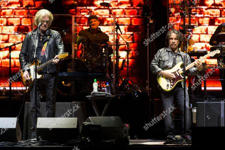 Editorial image of Hall and Oates in concert at the Hydro, Glasgow, Scotland, UK - 1st May 2019