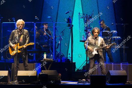 Editorial photo of Hall and Oates in concert at the Hydro, Glasgow, Scotland, UK - 1st May 2019