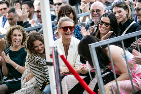 Rhea Perlman, Drew Barrymore, Cameron Diaz, Demi Moore and Lucy Liu reacts during Lucy Liu's 2,662nd Star ceremony on the Hollywood Walk of Fame in Hollywood, California, USA, 01 May 2019. The star was dedicated in the Category of Television.