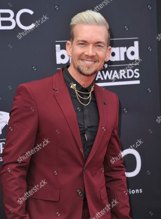 Damon Sharpe arrives at the Billboard Music Awards, at the MGM Grand Garden Arena in Las Vegas