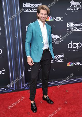 Jaymes Vaughan arrives at the Billboard Music Awards, at the MGM Grand Garden Arena in Las Vegas