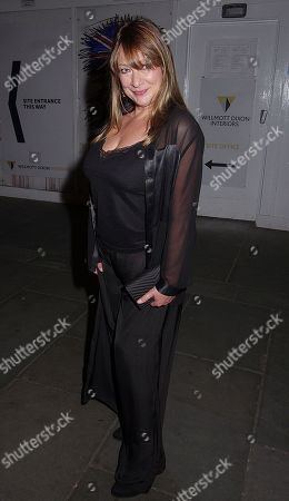 Kelsey Grammer and his wife Kayte Walsh and the wife's mother went to the drinks event at the crypt after the theatre opening of man of la mancha and kelsey looked very thin and tired as they were going home talking to a friend of theirs with no shoes on 30/4/2019 blitz pictures