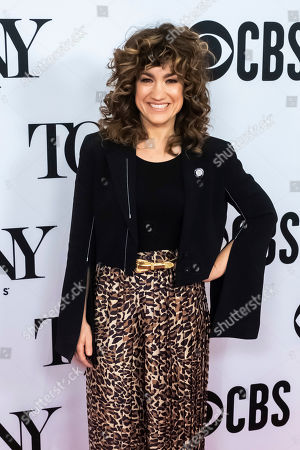 """Sarah Stiles participates in the 73rd annual Tony Awards """"Meet the Nominees"""" press day at the Sofitel New York, in new York"""