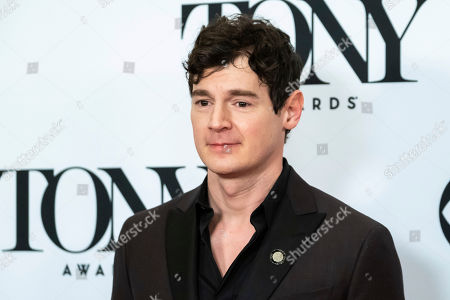 """Stock Image of Benjamin Walker participates in the 73rd annual Tony Awards """"Meet the Nominees"""" press day at the Sofitel New York, in new York"""