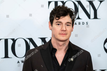 """Stock Photo of Benjamin Walker participates in the 73rd annual Tony Awards """"Meet the Nominees"""" press day at the Sofitel New York, in new York"""
