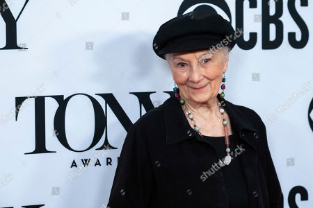 "Rosemary Harris participates in the 73rd annual Tony Awards ""Meet the Nominees"" press day at the Sofitel New York, in new York"