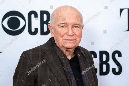 "Terrence McNally participates in the 73rd annual Tony Awards ""Meet the Nominees"" press day at the Sofitel New York, in new York"