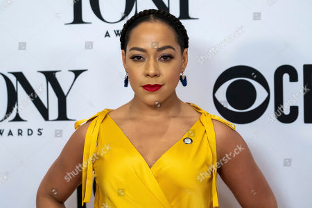 """Lilli Cooper participates in the 73rd annual Tony Awards """"Meet the Nominees"""" press day at the Sofitel New York, in new York"""