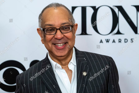 "George C. Wolfe participates in the 73rd annual Tony Awards ""Meet the Nominees"" press day at the Sofitel New York, in new York"