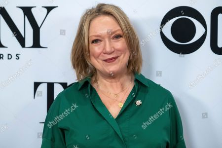 """Kristine Nielsen participates in the 73rd annual Tony Awards """"Meet the Nominees"""" press day at the Sofitel New York, in new York"""