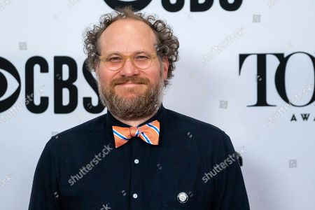 """Andy Grotelueschen participates in the 73rd annual Tony Awards """"Meet the Nominees"""" press day at the Sofitel New York, in new York"""