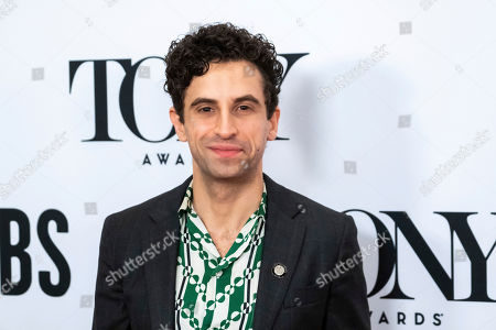 "Brandon Uranowitz participates in the 73rd annual Tony Awards ""Meet the Nominees"" press day at the Sofitel New York, in new York"