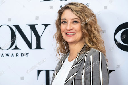 """Heidi Schreck participates in the 73rd annual Tony Awards """"Meet the Nominees"""" press day at the Sofitel New York, in new York"""
