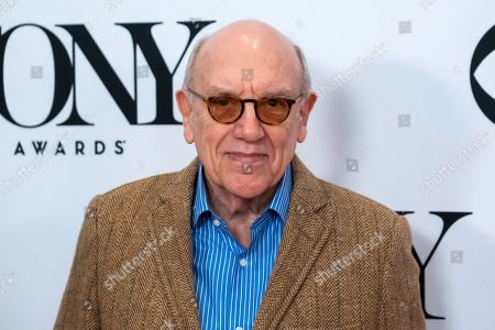 """Mart Crowley participates in the 73rd annual Tony Awards """"Meet the Nominees"""" press day at the Sofitel New York, in new York"""