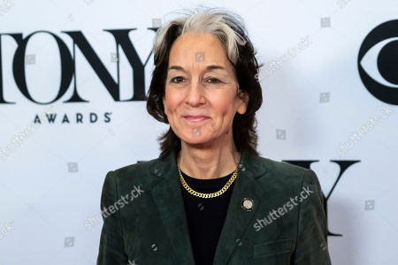 """Stock Image of Peggy Eisenhauer participates in the 73rd annual Tony Awards """"Meet the Nominees"""" press day at the Sofitel New York, in new York"""