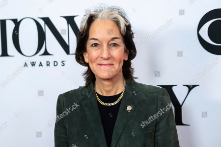 """Peggy Eisenhauer participates in the 73rd annual Tony Awards """"Meet the Nominees"""" press day at the Sofitel New York, in new York"""