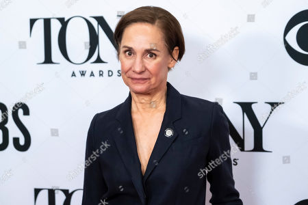 """Laurie Metcalf participate in the 73rd annual Tony Awards """"Meet the Nominees"""" press day at the Sofitel New York, in new York"""