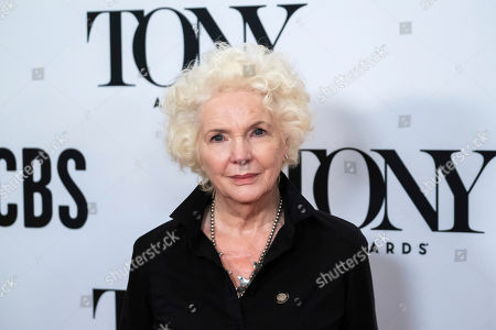 """Fionnula Flanagan participates in the 73rd annual Tony Awards """"Meet the Nominees"""" press day at the Sofitel New York, in new York"""