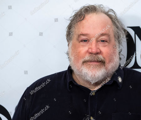 "Stock Photo of Tom Hulce participates in the 73rd annual Tony Awards ""Meet the Nominees"" press day at the Sofitel New York, in new York"