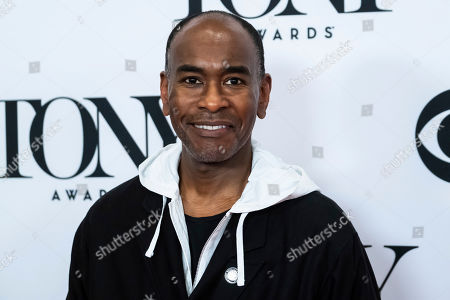 """Paul Tazewell participates in the 73rd annual Tony Awards """"Meet the Nominees"""" press day at the Sofitel New York, in new York"""