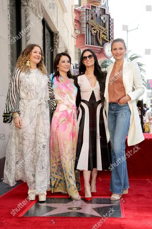 Editorial photo of Lucy Liu Honored with a Star on the Hollywood Walk of Fame, Los Angeles, USA - 01 May 2019