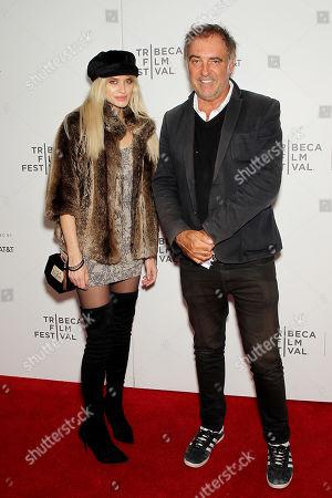 Stock Photo of Antoine Verglas with Guest