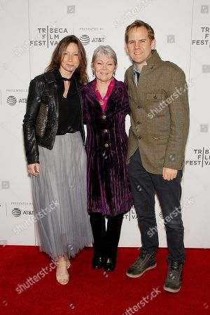 Stock Picture of Victoria Gregory (Producer), Tracy Edwards, James Erskine (Exec. Producer)