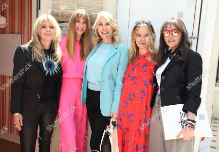 Stock Image of Rosanna Arquette, Kelly Lunch, Irina Medavoy, Rachel Marlowe, Tania Fares