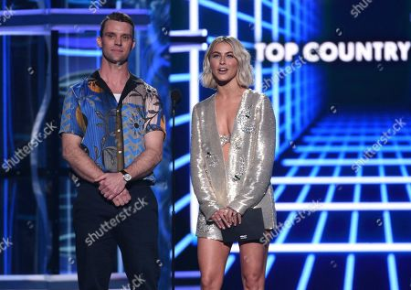 Jesse Spencer, Julianne Hough. Jesse Spencer, left, and Julianne Hough present the award for top country song at the Billboard Music Awards, at the MGM Grand Garden Arena in Las Vegas