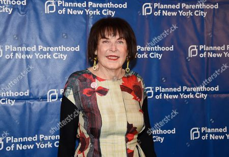 Stock Picture of Marilyn Minter attends the Planned Parenthood of New York City spring gala benefit at Center415, in New York