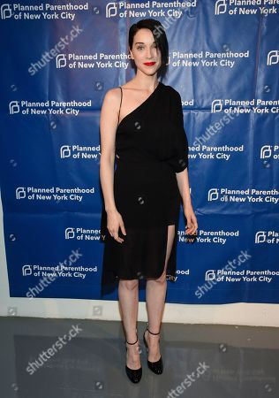 Annie Clark, St. Vincent. Musician Annie Clark aka St. Vincent attends the Planned Parenthood of New York City spring gala benefit at Center415, in New York