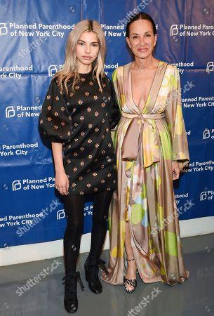Kit Keenan, Cynthia Rowley. Fashion designer Cynthia Rowley, right, and daughter Kit Keenan attend the Planned Parenthood of New York City spring gala benefit at Center415, in New York