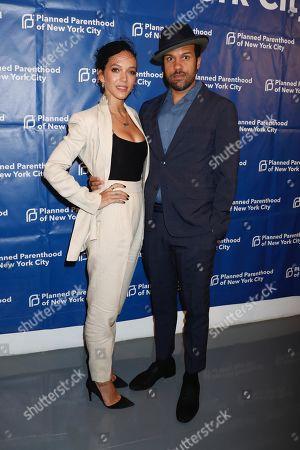 Zoe Buckman and O-T Fagbenle