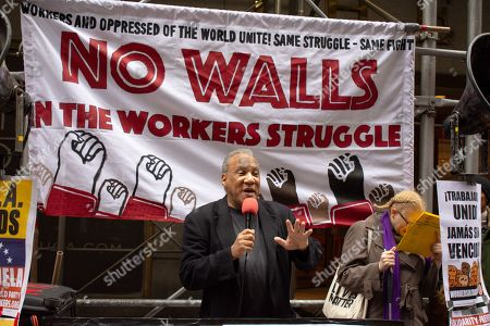 Larry Holmes of the Peoples Power Assemblies