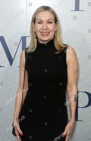 """Stock Picture of Marguerite Derricks arrives at the World Premiere of """"Poms"""", in Los Angeles"""