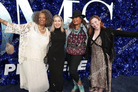 Stock Image of Carol Sutton, Marguerite Derricks, Choreographer, Pam Grier, Kelly Allen, Assistant Choreographer,