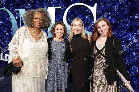 Stock Photo of Carol Sutton, Rhea Perlman, Marguerite Derricks, Choreographer, Kelly Allen, Assistant Choreographer,