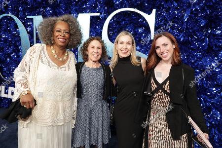 Carol Sutton, Rhea Perlman, Marguerite Derricks, Choreographer, Kelly Allen, Assistant Choreographer,