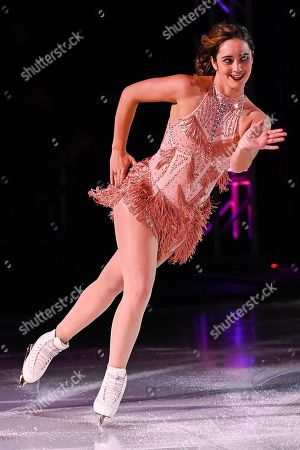 Kaetlyn Osmond skates during the Stars On Ice show at Bell Place in Laval, Quebec