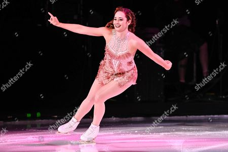 Stock Picture of Kaetlyn Osmond skates during the Stars On Ice show at Bell Place in Laval, Quebec